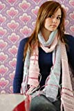 Girls CosmoGirl! Ribbon Scarf In 2 Colours