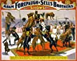 Circus Poster Magnificent Great Danes Photograph - Beautiful 16x20-inch Photographic Print from the Library of Congress Collection