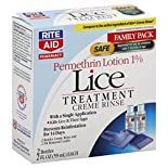 Rite Aid Pharmacy Lice Treatment, Creme Rinse, Family Pack, 2 - 2 fl oz (59 ml) bottles