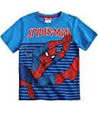 Spiderman Jungen T-Shirts - blau