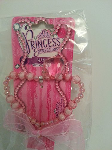 Princess Expressions Pink Ribbon Heart Wand