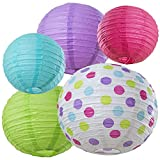 Bobee-Paper-Lanterns-for-Birthday-Party-Baby-Bridal-Shower-Decorations-Nursery-Bedroom-Girls-Room-Decor-5-pack