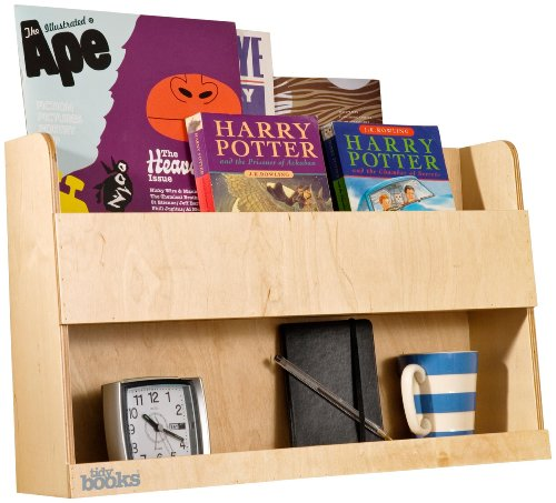 The Original Wooden Bunk Bed Shelf and Bedside Storage for Kids Rooms