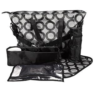 Bolsa Maternal Multi-Bolso para Bebé con Asas largas Talla Grande colgar fácil en el carrito