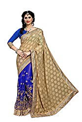 silvermoon women's chiffon embroidered free size fancy saree-sm_NMD2A223_blue_free size
