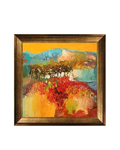 "Alex Bertaina ""Septembre"" Framed Canvas Print"