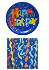 Happy Birthday Party Pack – 18 Plates…