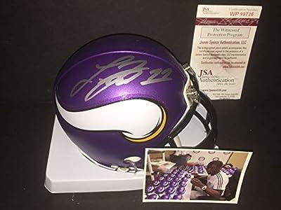 Laquon Treadwell Minnesota Vikings Autographed Signed Mini Helmet JSA WITNESS COA