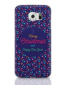 PosterGuy Christmas And New Year Poster Design Merry Christmas, Happy New Year, Poster, Design Samsung Galaxy S6 Covers