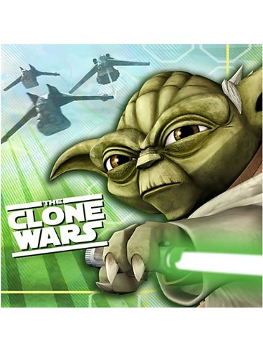 Star Wars The Clone Wars Opposing Forces Beverage Napkins