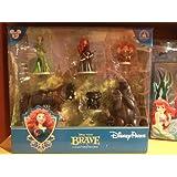 Brave Pixar Disney Parks Figurine PVC Playset Play Set Cake Topper NEW