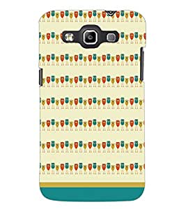 PrintDhaba Owl Pattern D-1702 Back Case Cover for SAMSUNG GALAXY WIN i8552 (Multi-Coloured)