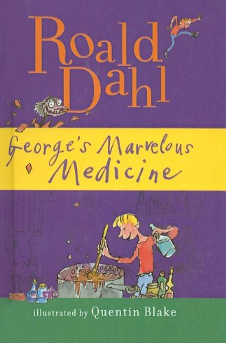 George S Marvellous Medicine Display Lettering