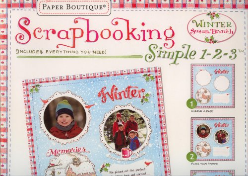 Scrapbooking Simple 1-2-3 Winter