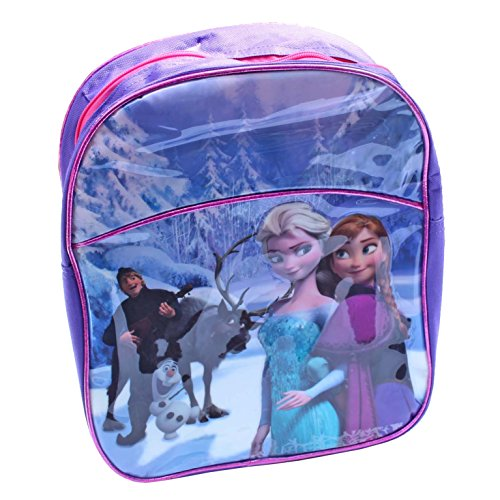 Disney Frozen Backpack - Purple and Pink