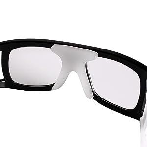 8acc13f85057 Andux Basketball Soccer Football Sports Protective Eyewear Goggles Eye  Safety Glasses LQYJ-01 (Black) (Color  Black)