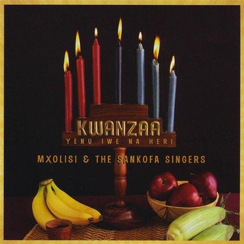 Original album cover of Kwanzaa Yenu Iwe Na Heri by Mxolisi & The Sankofa Singers