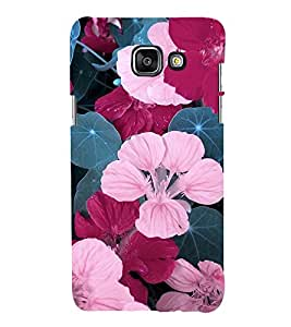 Flowers 3D Hard Polycarbonate Designer Back Case Cover for Samsung Galaxy A5 (2016) :: Samsung Galaxy A5 2016 Duos :: Samsung Galaxy A5 2016 A510F A510M A510FD A5100 A510Y :: Samsung Galaxy A5 A510 2016 Edition