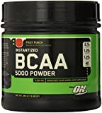 Optimum Nutrition Instantized BCAA Powder, Fruit Punch, 5000 mg, 380 Gram, 13.40 Ounce