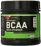 Optimum Nutrition BCAA 5000mg Powder, Fruit Punch, 40 Servings
