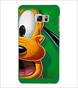 PrintDhaba Goofy D-2397 Back Case Cover for SAMSUNG GALAXY NOTE 5 (Multi-Coloured)