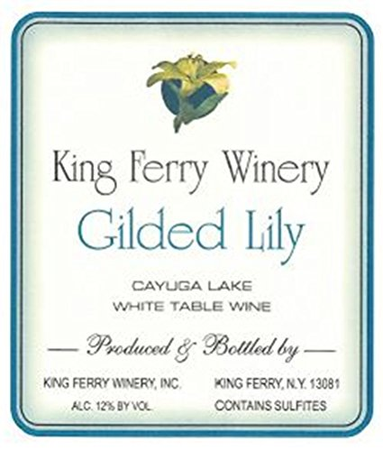 Nv King Ferry Gilded Lily White Blend Cayuga Lake 750Ml