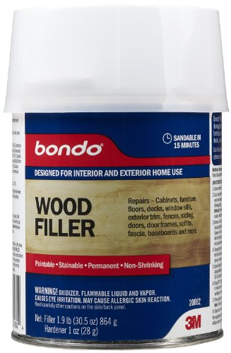 3m Bondo Home Solutions Wood Filler Decks And Patios