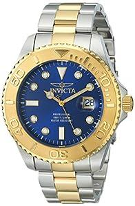 Invicta Men's 15181SYB Pro Diver Analog Display Swiss Quartz Two Tone Watch