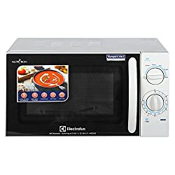 Electrolux S20M.WW-CG 20-Litre 1200-Watt Solo Microwave Oven (White and Black)