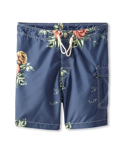 Marshall Artist Men's Vintage Roses Swim Shorts