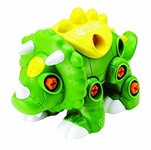 Happy Kid Toy Group Create and Play Dino Stacking Toy (29-Piece)