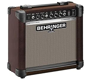 Behringer AT108 15-Watt Acoustic Amplifier by Behringer USA