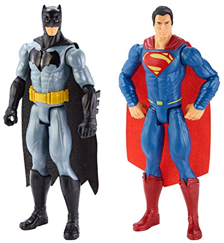 "Batman vs Superman DLN32 - Figure Assortito 2 Pack, 12"", Multicolore"