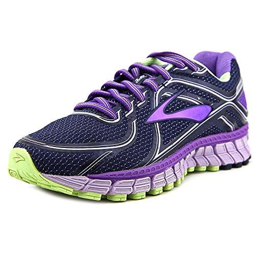 Brooks Women's Adrenaline GTS 16 Wide Passion Flower/Lavender/Paradis Running Shoe 7 Wide Women US