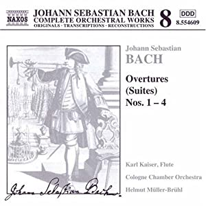 Bach Overtures Suites Nos 1-4 from Naxos
