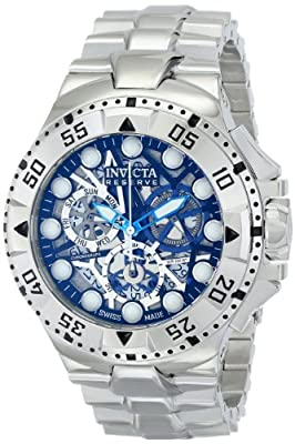 Invicta Men's 15978 Excursion Analog Display Swiss Quartz Silver Watch