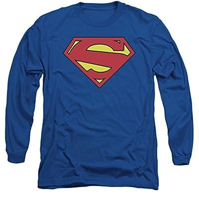 Superman: New 52 Shield Long Sleeve T-Shirt