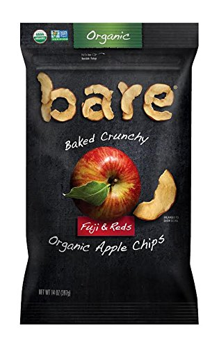 bare fruits organic gluten free baked apple chips