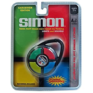 Simon Electronic Carabiner Hand Held Game