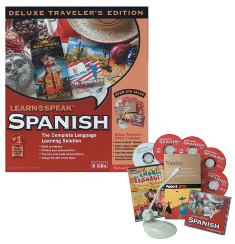 Learn to Speak Spanish: Deluxe Traveler's Edition