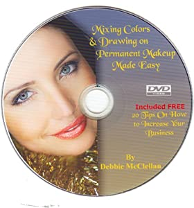 Mixing Colors & Drawing on Permanent Makeup Made Easy