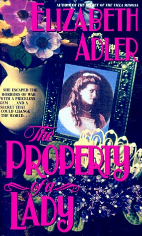 The Property of a Lady, Adler,Elizabeth