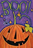 Boo - Standard Size 28 Inch X 40 Inch Decorative Flag
