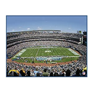NFL San Diego Chargers Stadium 22x28 Canvas Art by Pangea Brands
