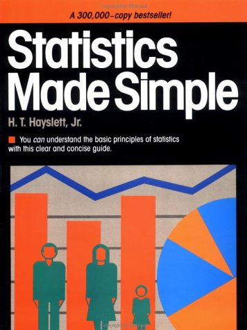 Statistics Made Simple (Made Simple Books (Doubleday))