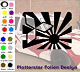 Mitsubishi Risingsun Karte Hater Domo Bitch Race Power PS JDm Sticker OEM Fun Aufkleber Hater