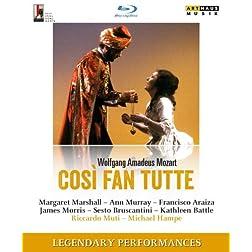 Mozart: Così fan tutte - Salzburger Festspiele, 1983 [Blu-ray]