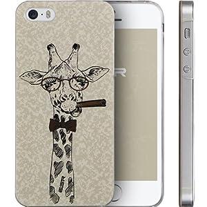 iPhone5s ケース ハード ESR iPhone SE ケース かわいい 凸凹模様 スリム 傷防止 ピッタリフィット 持ちやすい iPhone5 iPhone5S iPhone5SE iPhone SE カバー (らくキリン)
