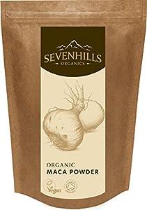 Sevenhills Organics Raw Maca Powder 1kg, Soil Association certified organic