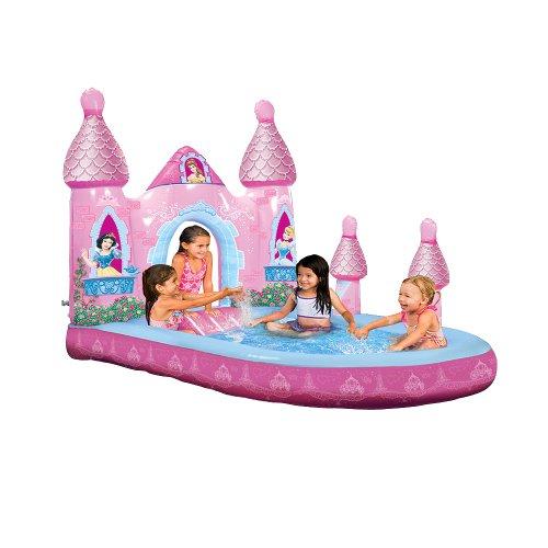 enchanted princess castle pool
